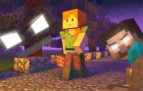 Minecraft Animation Halloween Night