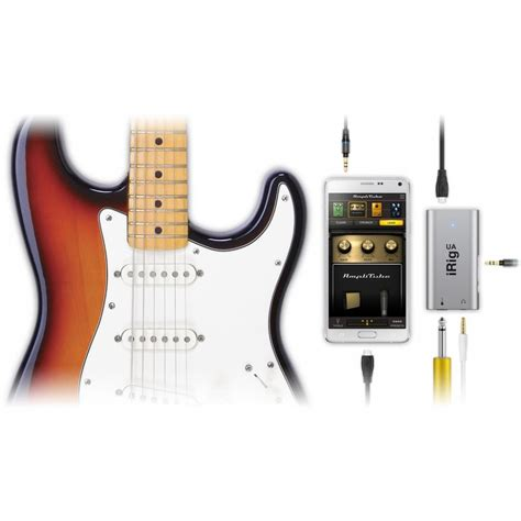 irig for android ik multimedia irig hd ua guitar interface for android devices