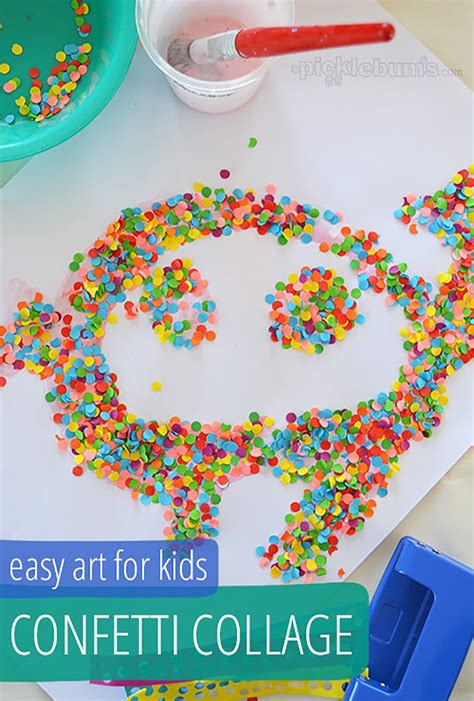 diy collage projects handmade 629 | 5 diy kids collages