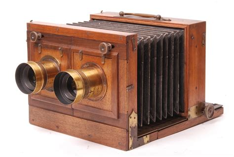chambre appareil photo chambre stéréo au collodion sec les catalogues antiq photo