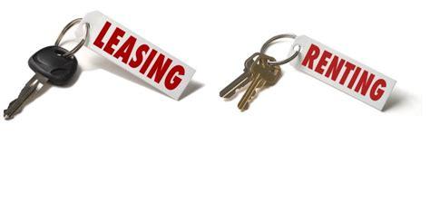 Renting A by Renting Y Leasing Dos Formas De Financiaci 243 N Para