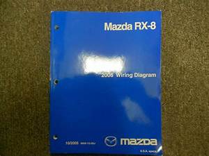 2006 Mazda Mx 5 Mx5 Miata Electrical Wiring Diagram Shop Ewd Oem 2006