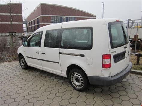 caddy maxi kaufen volkswagen caddy maxi lkw geschlossener kasten erdgas ng gebraucht kaufen auction premium