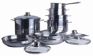 Batterie Cuisine Induction : inox batterie de cuisine batterie de cuisine induction ~ Premium-room.com Idées de Décoration