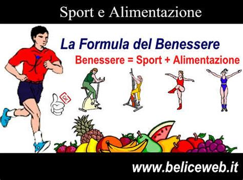 alimentazione e benessere sport e alimentazione la formula benessere