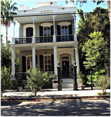 brick house new orleans creole style house design and