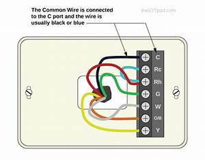 Honeywell Thermostat Wire Colors Blue
