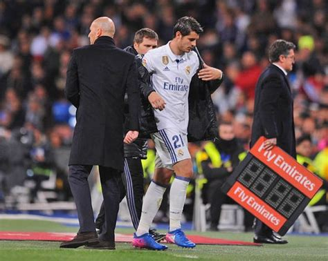 Alvaro Morata to Chelsea: Zinedine Zidane wishes striker ...
