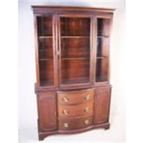 Duncan Phyfe China Cabinet 1940 by 1940s Mahogany Duncan Phyfe Style China Cabinet Hutch 08