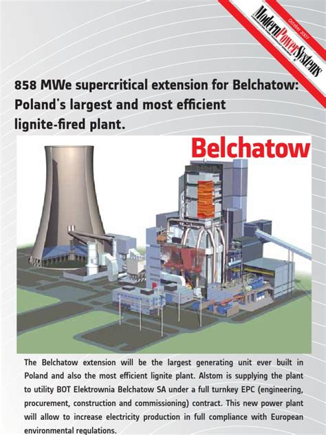 Archived from the original on 13 june 2011. Belchatow Poland Supercritical Steam Coal Power Plant Editorial | Boiler | Coal