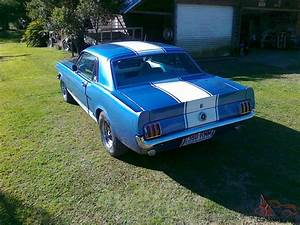 1965 Ford Mustang Coupe Tough 5l Manual Bench Seat