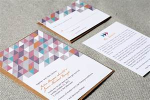 Items similar to wedding invitations modern geometric on etsy for Etsy geometric wedding invitations