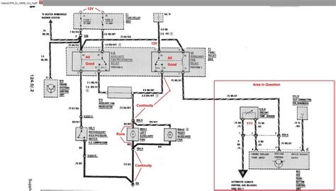 aux fans not working can t find the correct coolant temp sensory wiring diagram mercedes