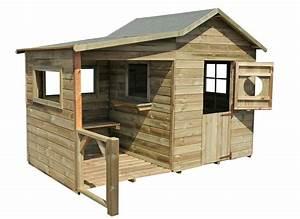 Cabane En Bois Pour Enfant : cabane enfant bois pas cher hacienda forest style ~ Dailycaller-alerts.com Idées de Décoration