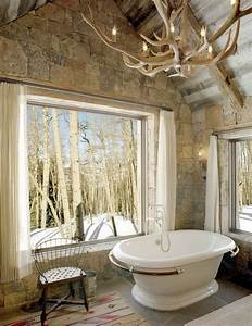 12, Luxury, Bathrooms, With, Stone, Walls