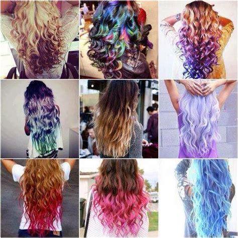 Hair Dye Types by Britt S Gekleurd Haar