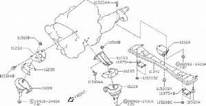 Nissan Stanza Suspension Stabilizer Bar Link Nut  Strut
