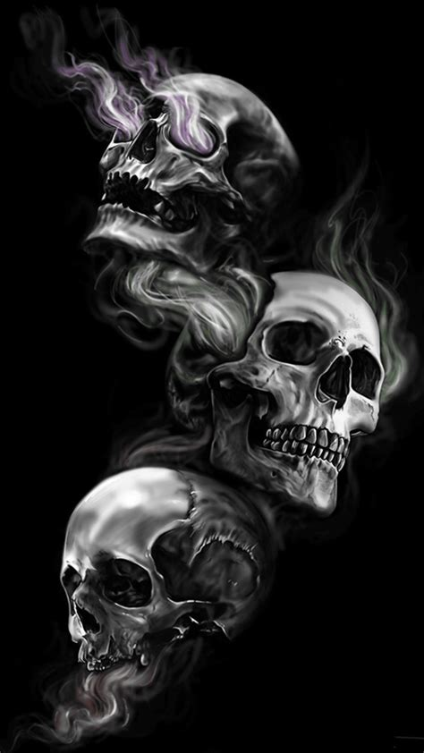 Anime Skull Wallpaper - badass wallpapers of skulls 61 images