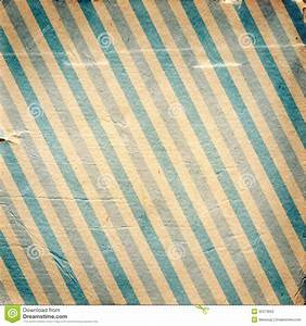 Vintage Blue Diagonal Striped Paper Background Stock Photo ...