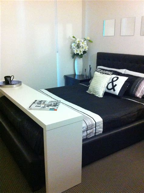 ikea bed table on wheels my ikea malm occasional table used over my bed i it
