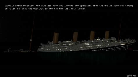 titanic sinking animation real time titanic real time sinking pt 7