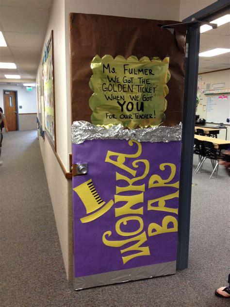 Willy Wonka Decorations by Willy Wonka Appreciation Door