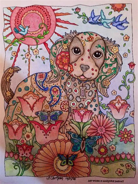 pin  shandra wiley  coloring dazzling dogs pinterest