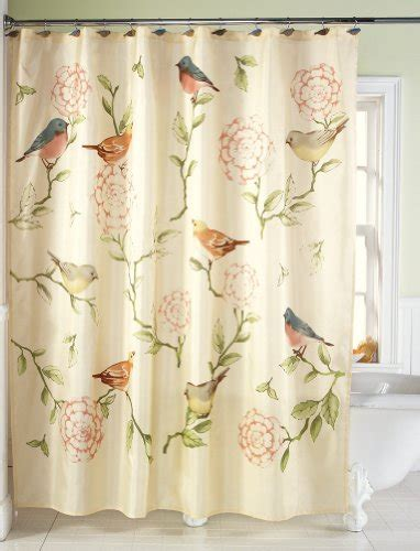 floral shower curtains for bed bath and more