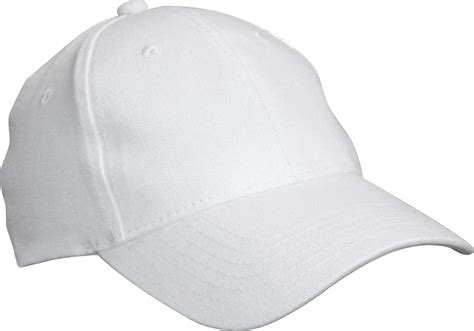 Baseball White Cap, Hat Png #35345