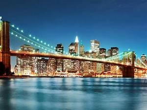 New York City Night Lights Wallpaper 3840x2160