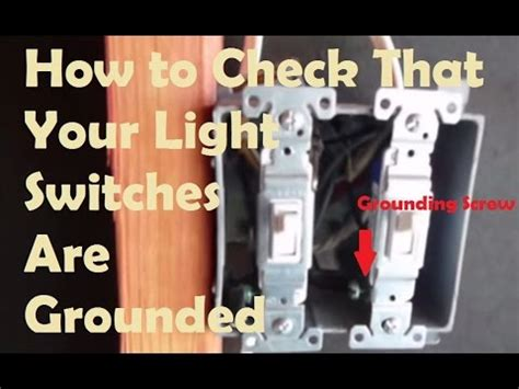 Grounded Light Switches How To Test If Your Light