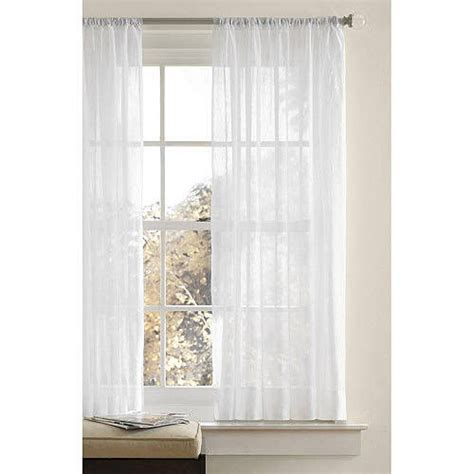 Crushed Voile Curtains Tree Shop by Better Homes And Gardens Canopy Crushed Voile Curtain