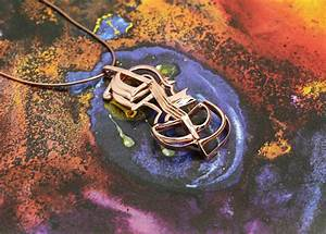 vulcanjewelry images Salvador dali cello necklace, music ...