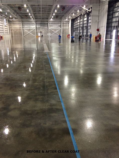 Apoxy Floor - large commercial floor coatings system garage