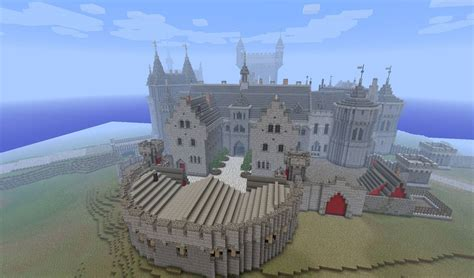 castle schematic kings minecraft medieval blueprints home plans blueprints