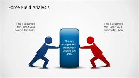force field analysis powerpoint template slidemodel