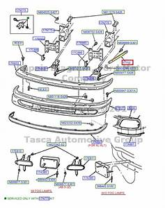 Brand New Oem Lh Left Driver Side Front Bumper Bracket F150 F250 Expedition
