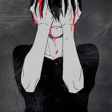 Animated Sad Boy Wallpaper - sad bloody anime boy boys anime