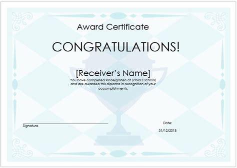 Winner Certificate Template 10 Winner Certificate Templates Free Printable Word