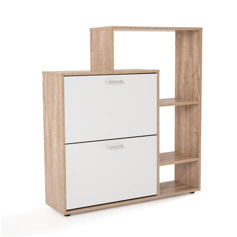 table de cuisine avec banc meuble à chaussure mdf chêne blanc avec porte abattante
