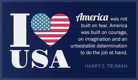 love usa harry truman quote ecard email