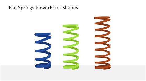 flat springs powerpoint shapes slidemodel