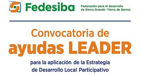 fedesiba presenta la 1ª convocatoria de ayudas del