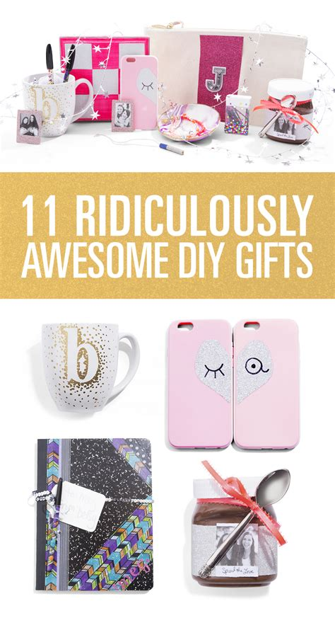 gifts for your best diy gifts for friends diy gifts Diy