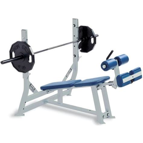 Hammer Strength Olympic Decline Bench  Life Fitness