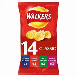 Morrisons: Walkers Classic Variety Crisps 14 x 25g(Product ...
