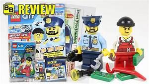 Lego City Magazin : new 2017 lego city magazine issue 1 minifigures review ~ Jslefanu.com Haus und Dekorationen