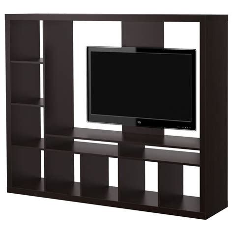 ikea black tv cabinet expedit tv storage unit black brown ikea for