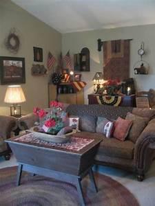 best 25 primitive living room ideas on pinterest With primitive decorating ideas for living room