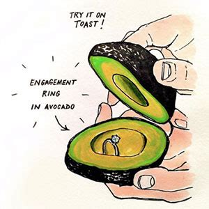 The Avocado Engagement Ring Box Is A Real Thing. Gold Rings. Lilac Wedding Wedding Rings. 9 Carat Engagement Rings. Box Wedding Wedding Rings. Word Rings. Flowery Wedding Rings. Uk Fingerprint Wedding Rings. Upside Down Engagement Rings